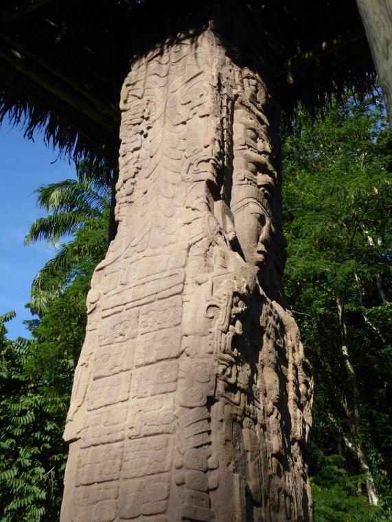 Maya details. Quiriguá