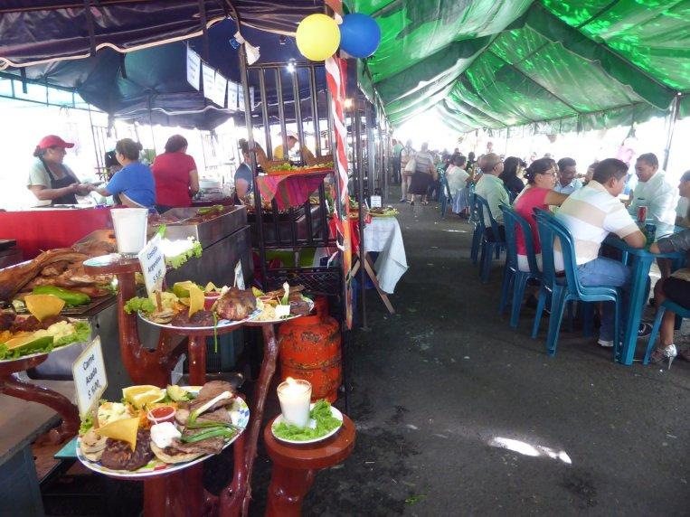 De foodfair van Juayúa.