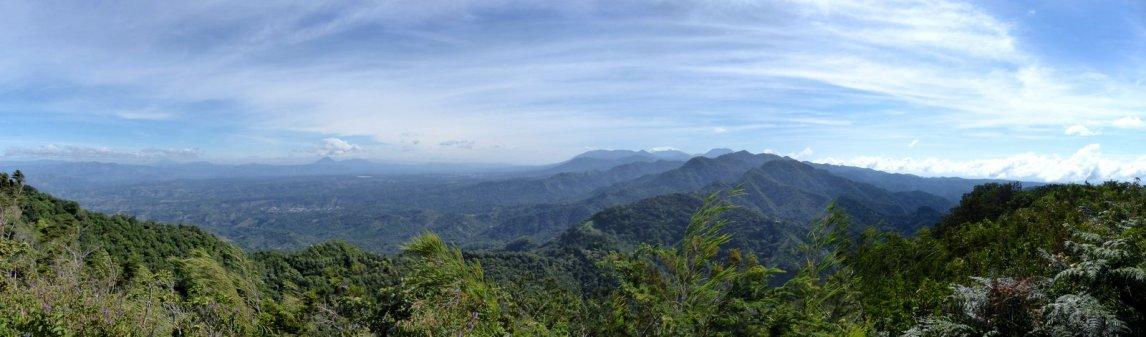 View op National Park El Imposible. Tacuba