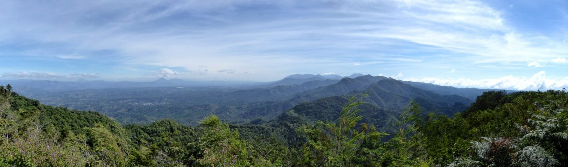 View op National Park El Imposible. Tacuba