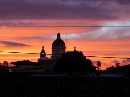 Granada by night.