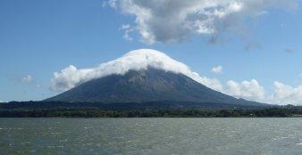 Vulkaan Concepción op Isla de Ometepe.