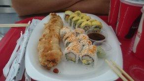 Shoppingmall sushi is beter dan geen sushi XD Panama City