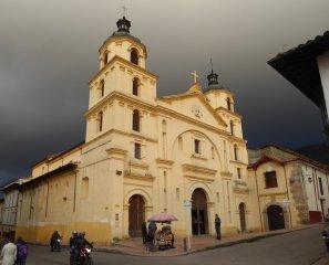 Lekker geel kerkje. Bogota (Colombia)
