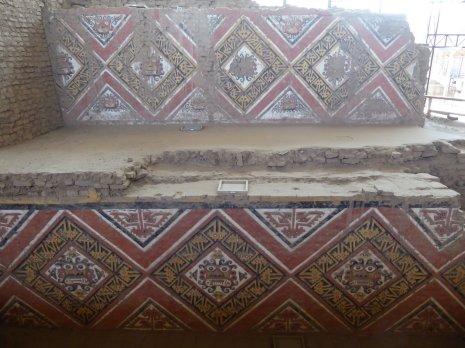 De Moche waren lekker bezig. Kwaliteit technisch zit het wel snor. La Huaca de la Luna
