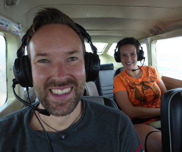 Hep'ie us high in the sky! Nazca