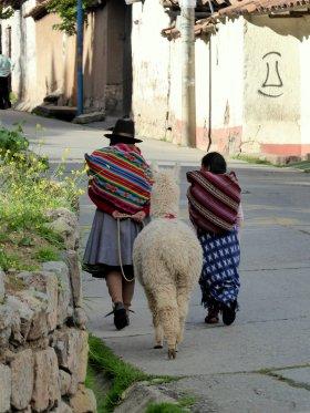 Typisch Cusco.