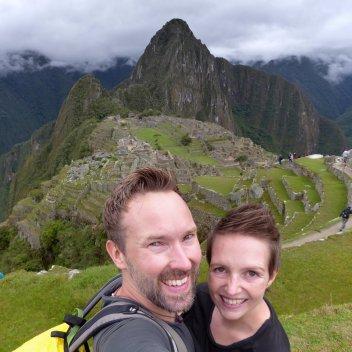 Hep'ie us bij Mchu Picchu!