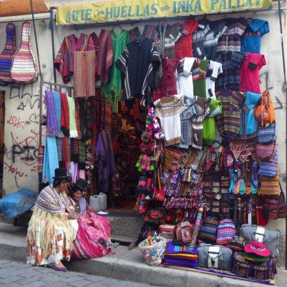 Leuk winkeltje. La Paz