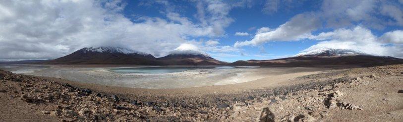 Laguna Verde. Zuid Bolivia road trip