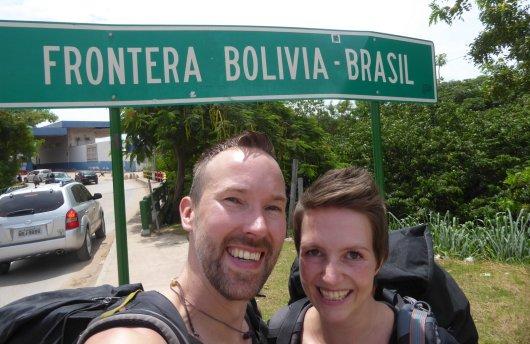 Hep'ie us! Weer een landje erbij! Corumbá, Brazilië
