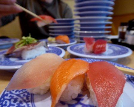 Sushi!!! We missed you! Narita