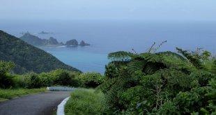 Nog zo'n mooi uitzicht vanaf het weerstation op Lanyu island.