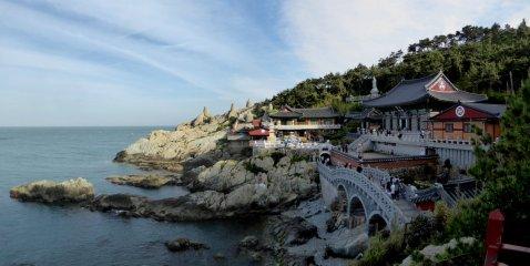 Haedong Yonggungsa. Haeundae, Korea