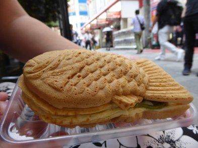 Taiyaki! Prima winkelsnack! Tokio, Japan