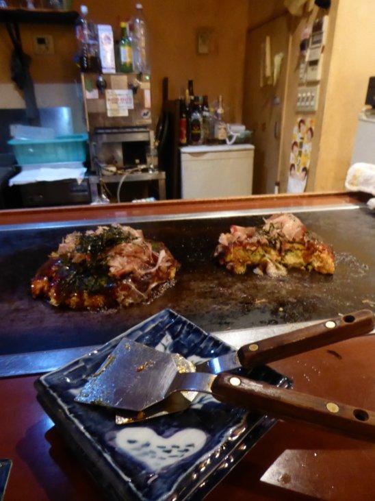 Okonomiyaki! Tokio, Japan