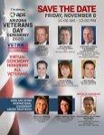 2020 Arizona Veterans Day Ceremony save the date