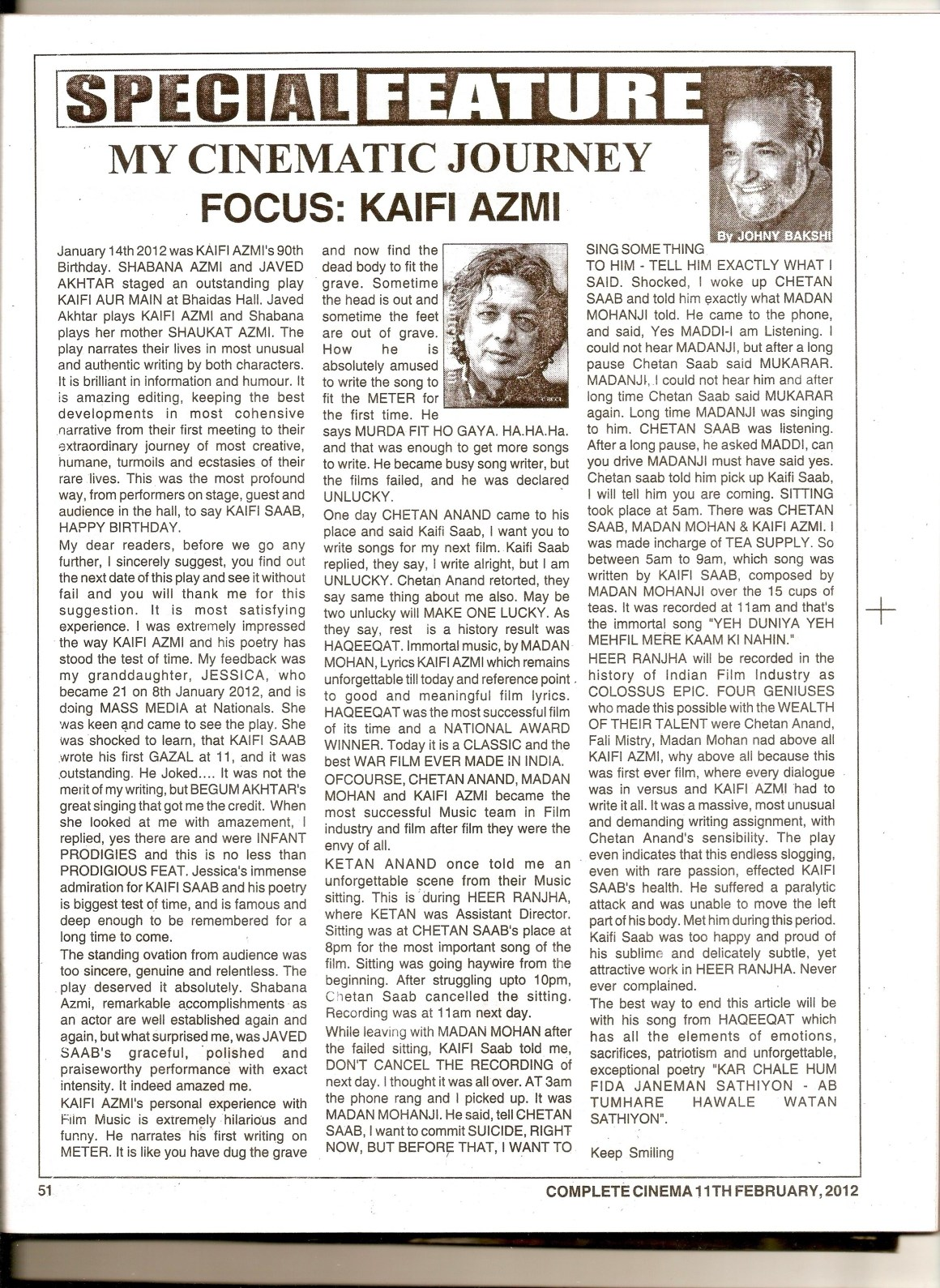 Article by Jhony Bakshi