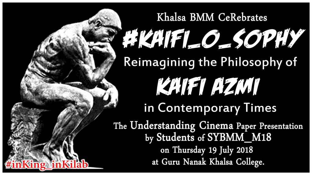 100 years of Kaifi and celebrations are afoot at Khalsa College in Mumbai's Matunga