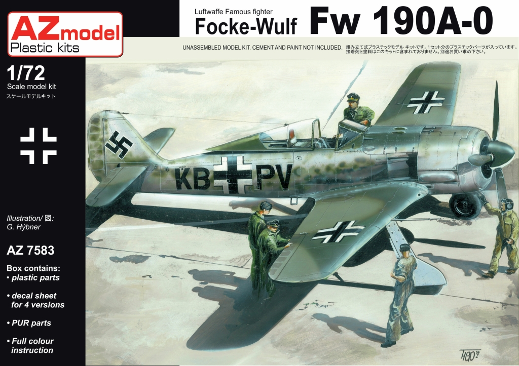 Quickboost 72077 1//72 Fw190A8 Wide Propeller Blades for Hasegawa