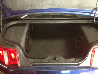 Car Audio System - Subwoofers Trunk Walls