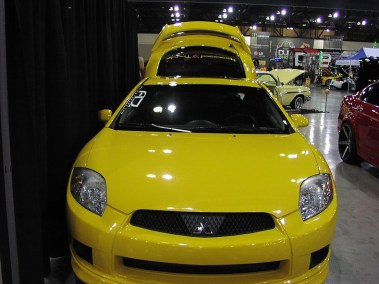 Customized Yellow Eclipse