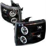 AZ Motor Trendz: SPEC-D Tuning 2LHP-SIV07JM-TM Black Halo Projector Headlights