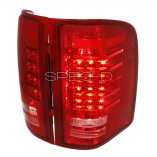 AZ Motor Trendz: SPEC-D Tuning LT-SIV07RLED-RS Red/Clear LED Tail Lights