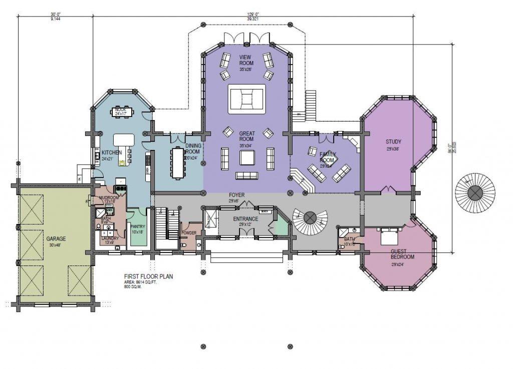 Luxury Log Home Designs Best Kitchen Gallery | Rachelxblog small log ...