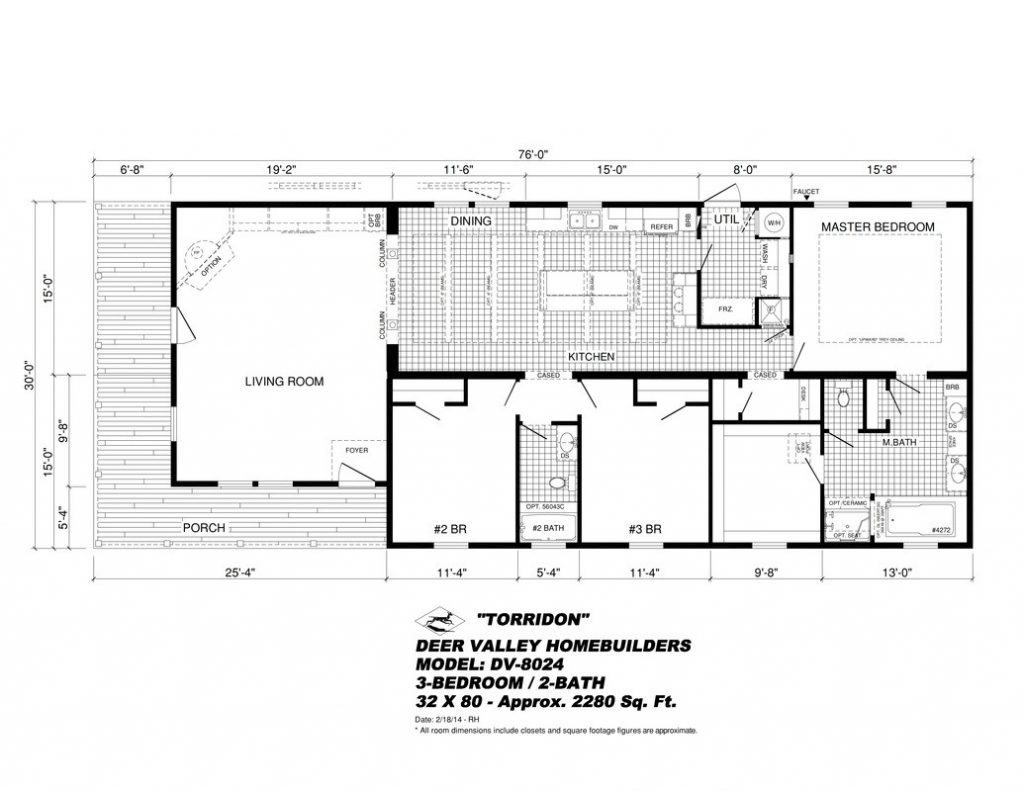 New Manufactured Home Floor Plans