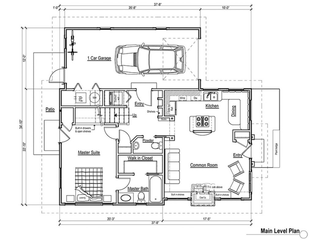 Basic Bedroom Wiring Diagram