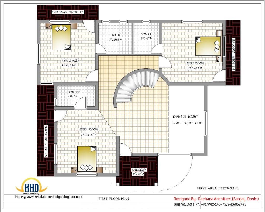 3 Bedroom House Plans India Unique 3 Bedroom Floor Plans