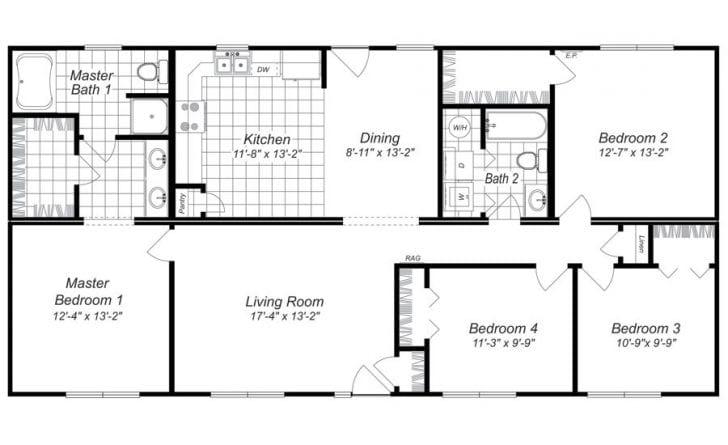 Free 4 bedroom house plans uk for 4 bedroom house plans uk