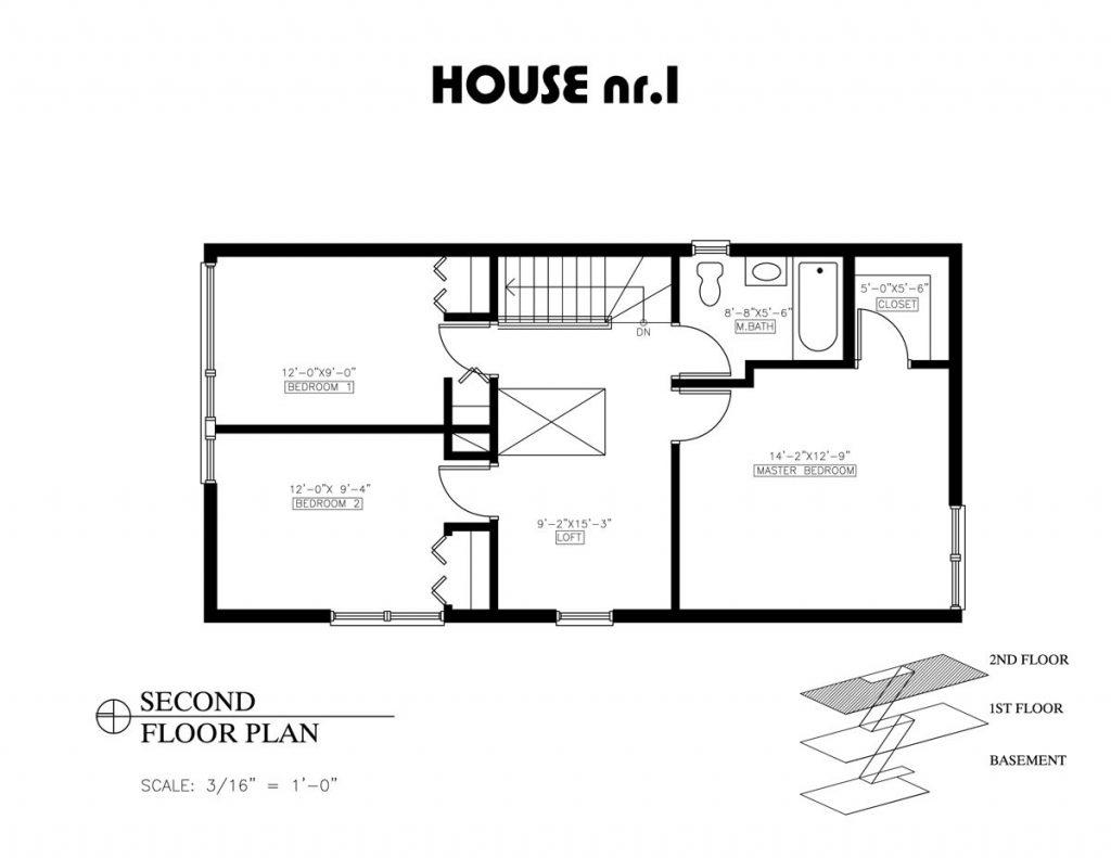 Unique Guest House Floor Plans 2 Bedroom