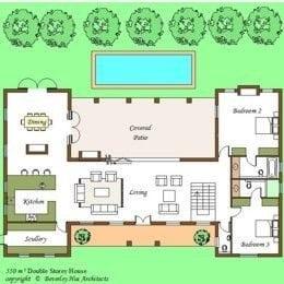Elegant H Shaped Ranch House Plans New Home Plans Design