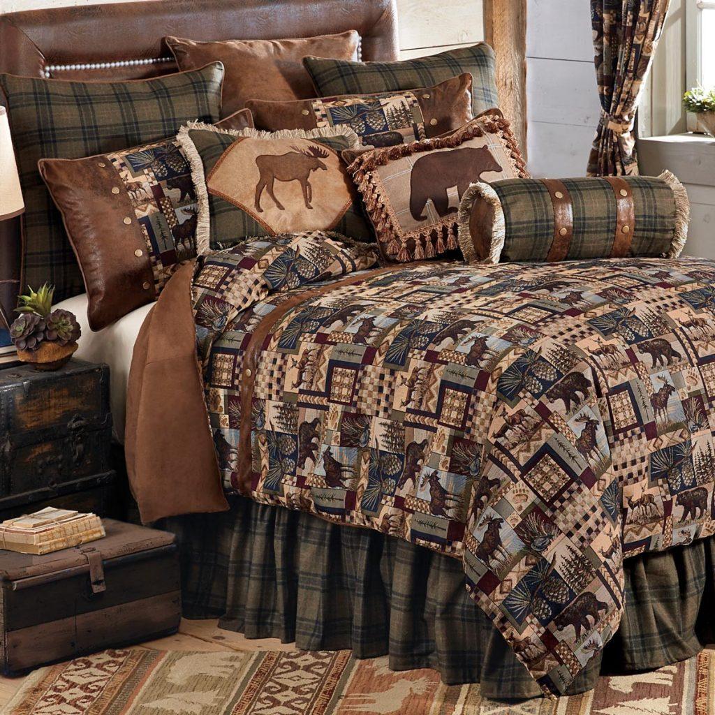 Log Cabin Bedding Best Of Woodland Cabin Bed Set King