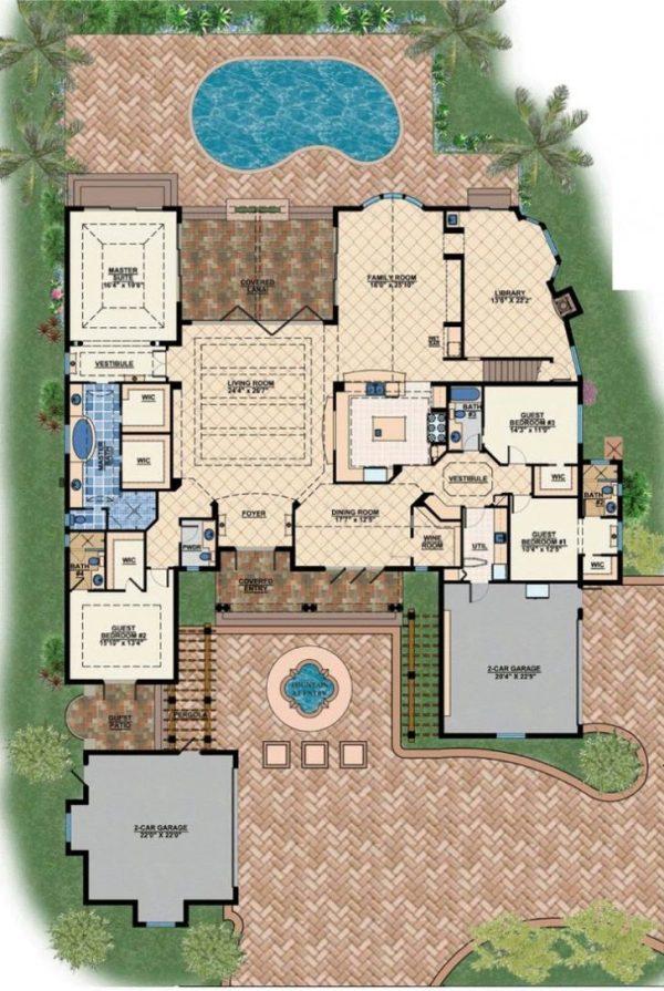 New Modern Mediterranean House Plans New Home Plans Design