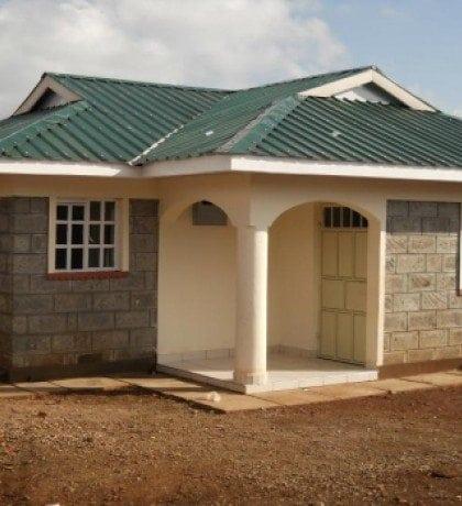 Simple three bedroom house plans in kenya for Kenya house plans