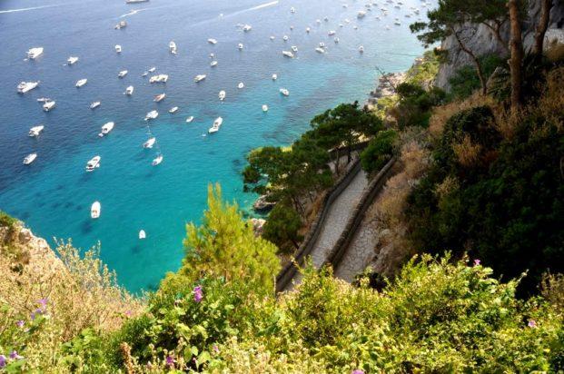 Capri, az azúrkék, zöld sziget