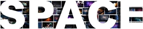 Space photos images pics header cover banner white type font
