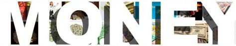 Money header baner cover heading images photos bold white type font
