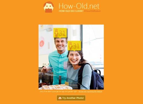 How Old Do i Look website How-Old.net official Microsoft website face ages results photos screenshot 2015