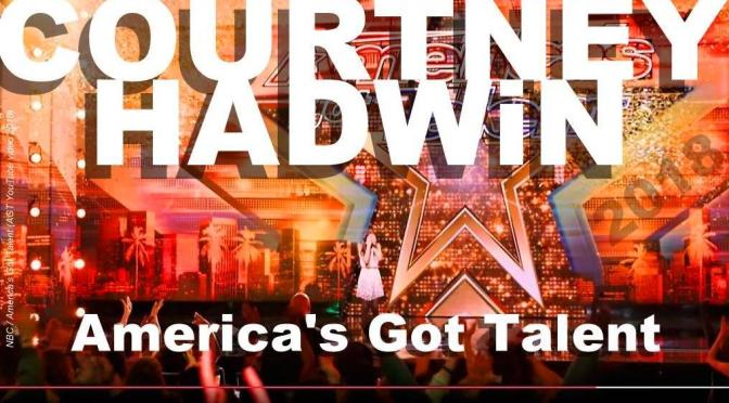 COURTNEY HADWiN: golden buzzer WiNNER of America's Got Talent 2018