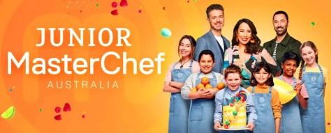 Junior MasterChef Australia 2020 on Channel 10 Play cooking show contestants photo winner Georgia 11 year old girl