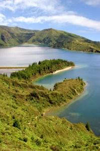 Lagoa de Fogo - Feuersee auf den azoren
