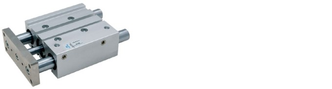Compact Guide Cylinder - with bushing;  ø16 bore stroke 10