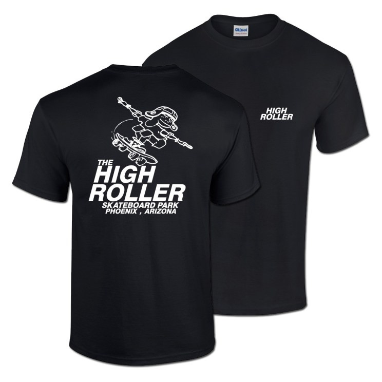 High Roller T-shirt Black