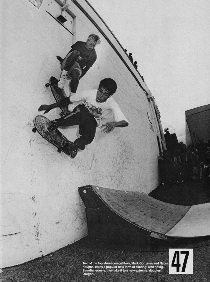 Two of the best to ever skate the streets...Natas & Gonz