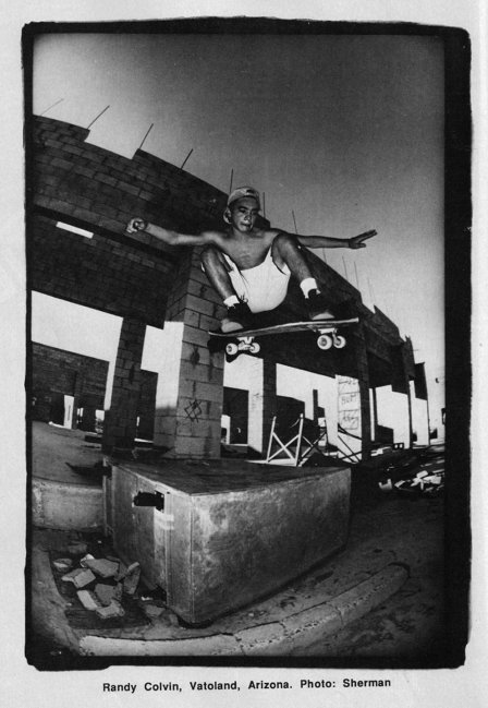 Randy Colvin at Vato Land Photo: Sherman