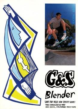 Backside Ollie at Sadlands 1989...the begining of the end